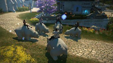 CUBs riding Polar Bears