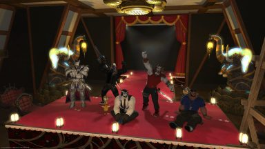 Group photo from the Warrior of Light Statue Picture Day
