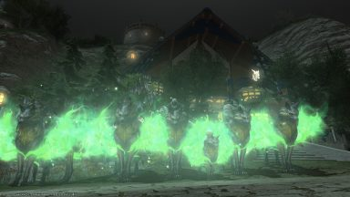 Mean Green Legendary Machine! Another successful mount farm organized by Richter!