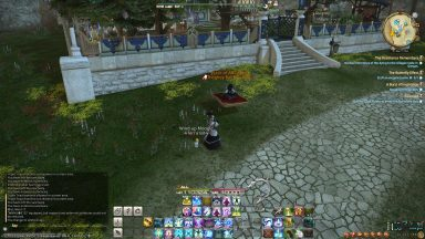 She's not gloating or anything. (But seriously congratulations on this mount/achievement, I was happy to help!)