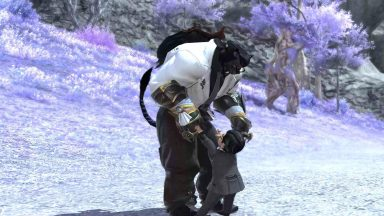 Dancing with my partner's Lala